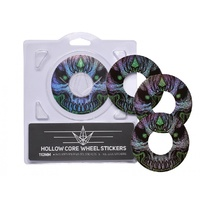 Hollow Core Wheel Stickers - Assorted Styles / 110mm / 120mm