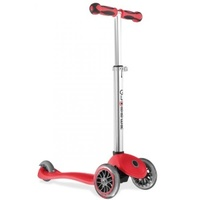 Globber 3 Wheel Kids Complete Scooter - Red