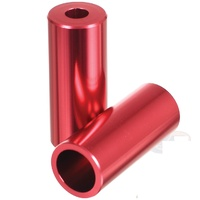 Madd Gear Alloy Pegs - Red