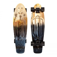 Penny Skateboard - Black Gold 27""