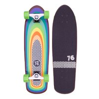 Z-Flex Cruiser Complete Skateboard - Surf-a-GoGo Shorebreak / 30""